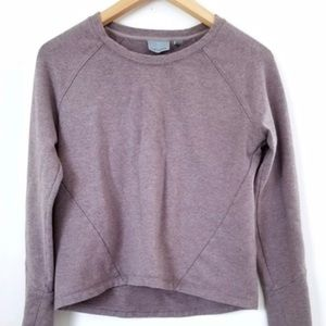 Athleta Cropped Sweatshirt